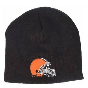 Cleveland Browns Youth Beanie Knit Hat NWT OS